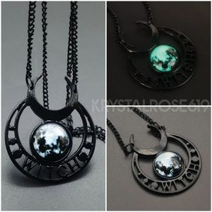 Glowing Earth Witch Necklace